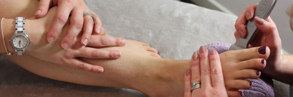 Pedicures at Mi:Skin Beauty Salon
